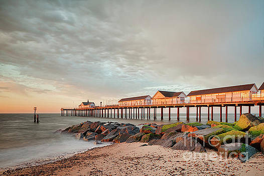 The Pier at Sunrise 2 by Colin and Linda McKie