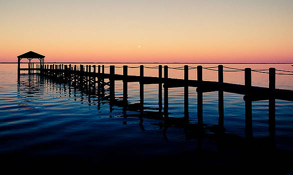 The Pier by Valerie Morrison