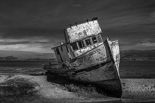 The Point Reyes In Black and White by Bill Gallagher