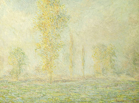 Claude Monet - The Prairie in Giverny