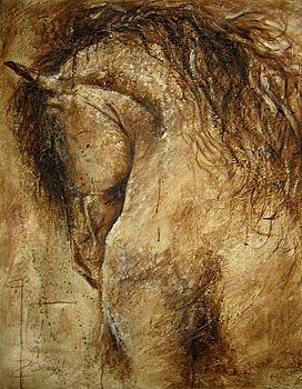 The Promise of a Horse by Paula Collewijn -  The Art of Horses