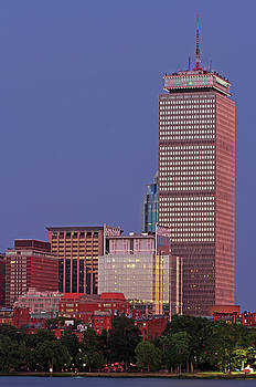 Juergen Roth - The Pru and Prudential Center and Newly Constructed 330 Beacon Street Corporation Building