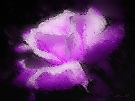 The Purple Rose by Gabriella Weninger - David