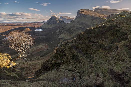 The Quiraing Isle of Skye by Derek Beattie