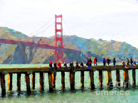 The Real Fisherman's Wharf by Jack Gannon
