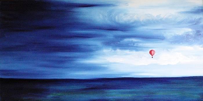 The red balloon by Annemeet Hasidi- van der Leij