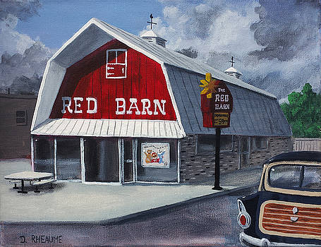 The Red Barn by Dave Rheaume