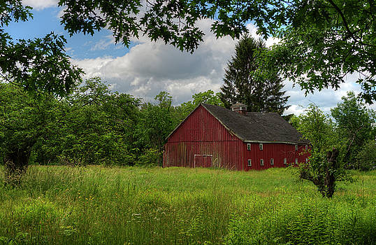 The Red Barn by Lee Fortier