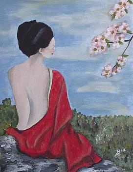 The Red Kimono by Kim Selig