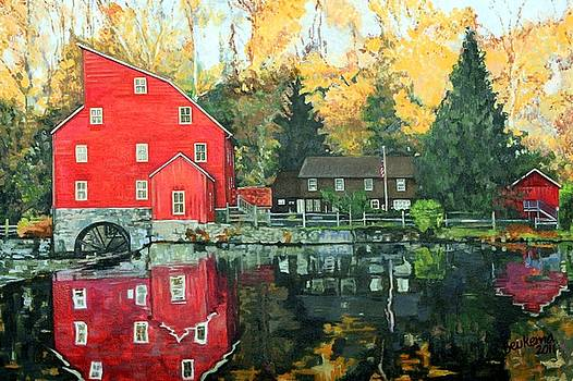 The Red Mill by Debbie Beukema