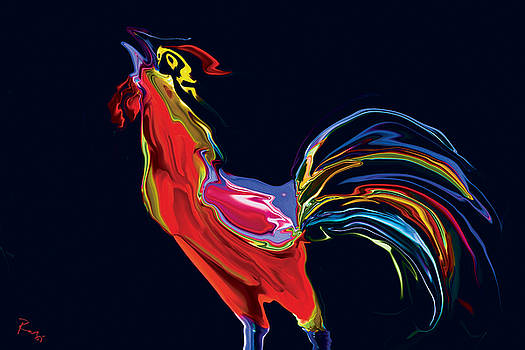 The Red Rooster by Rabi Khan