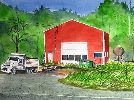 The Red Shed by Bud Bullivant