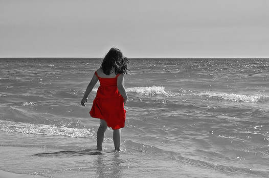 The Red Sundress by Megan Noble