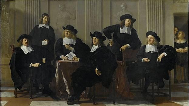 The Regents of the Spinhuis and Nieuwe Werkhuis by Karel Dujardin