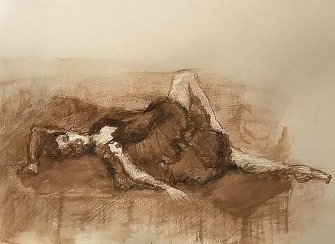 The Resting Ballerina by Wen LePore