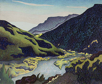 The Rio Grande Before Pilar by Dale Beckman