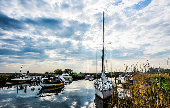 Steven Poulton - The River Frome at Sunrise