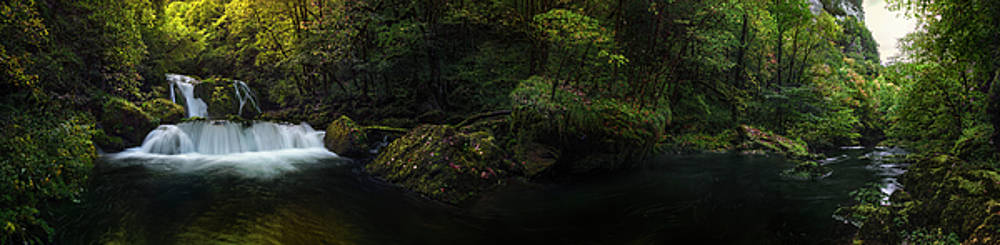 The River Loue Gorge by Jens Tischer