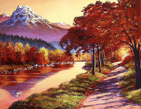 David Lloyd Glover - The River Runs Gold