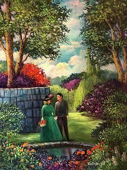 The Romantic Garden by Randy Burns