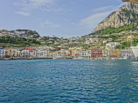 The Romantic Island of Capri near Naples by M Bleichner