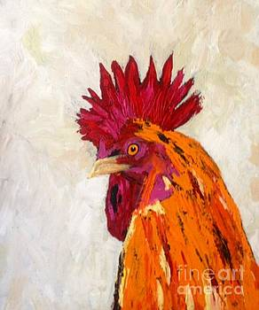 The Rooster by Shirley Barone