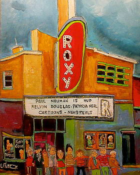 The Roxy in the Village by Michael Litvack