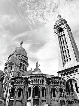 The Sacre Coeur Basilica by Alex Cassels
