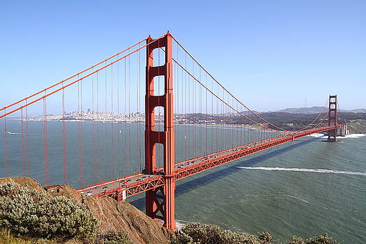 Wingsdomain Art and Photography - The San Francisco Golden Gate Bridge 7D14507