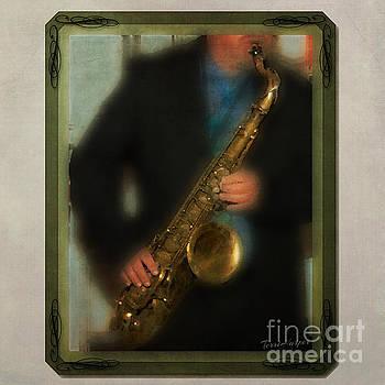 The Sax Player by Terri Harper