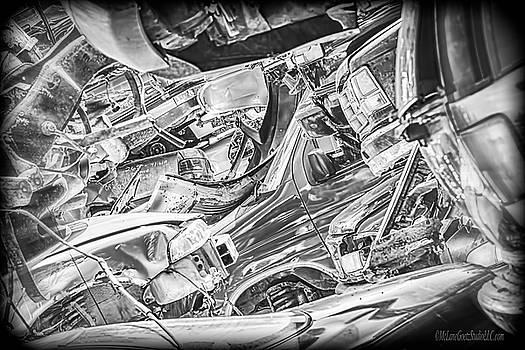 The Scrap Yard by LeeAnn McLaneGoetz McLaneGoetzStudioLLCcom