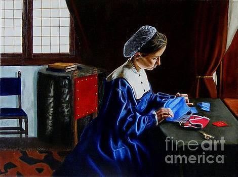 The Seamstress by Alan Berkman