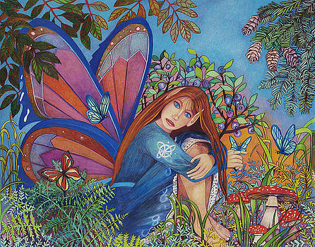 The Secret Blue Berry Bush by Rene LeGrue