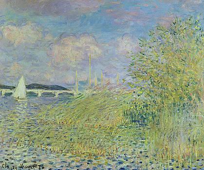 Claude Monet - The Seine at Chatou near Argenteuil, 1878