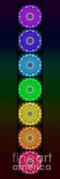 The Seven Chakras - Open Lotus No. 1 by Dirk Czarnota
