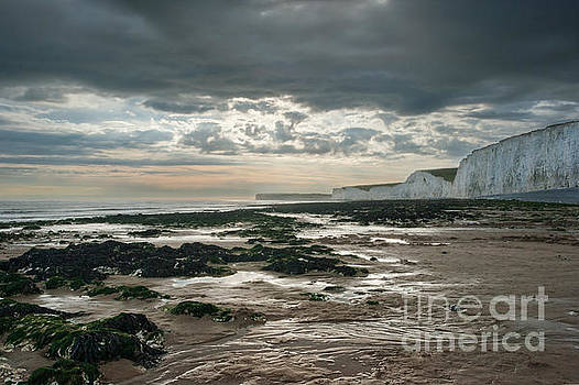 The Seven Sisters, Sussex by Ann Garrett