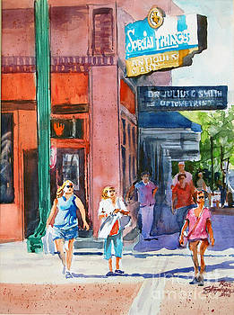 The Shoppers by Ron Stephens