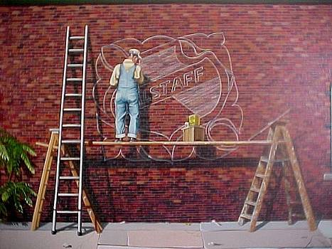 The Sign Painter by Bobbi Baltzer-Jacobo