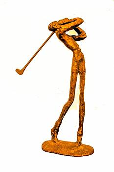 The Skinny Golfer by Tom Zukauskas