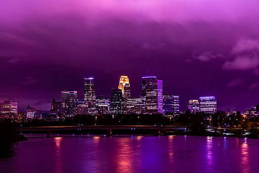 The sky was so purple...  by Mark Goodman