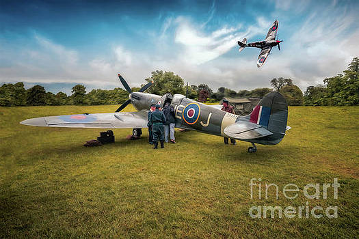 The Spitfire Parade by Adrian Evans
