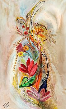 The Splash Of Life 20. Flowers of Holy Land by Elena Kotliarker