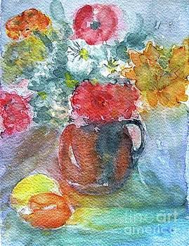 The Splendor Of Flowers by Jasna Dragun