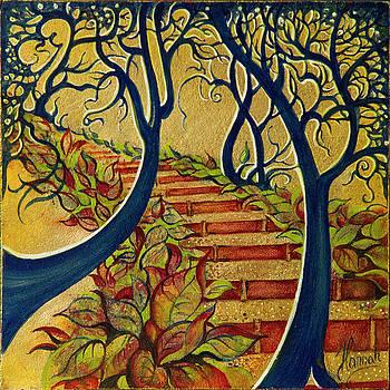 The Stairs to Now by Anna Ewa Miarczynska