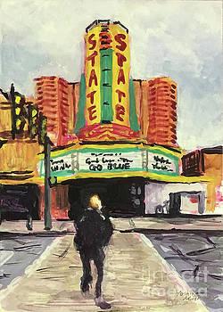 The State Theater Ann Arbor by Yoshiko Mishina