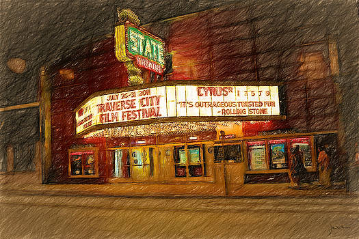 The State Theatre Traverse City by John Farr