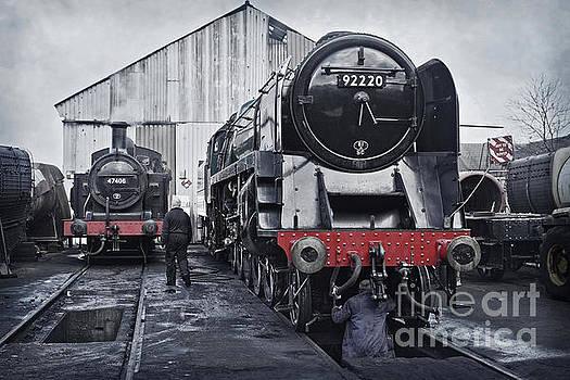 The Steam Depot by David Birchall