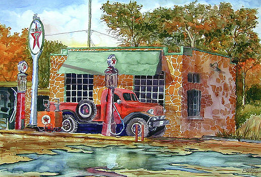 The Stone Texaco by Ron Stephens