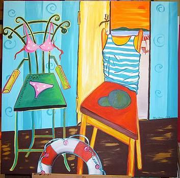 The strange couple by Marilena  Pilla