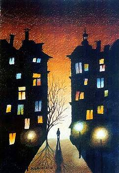 The street by Gregor Ziolkowski